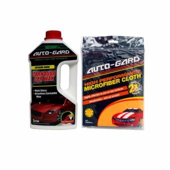 NFSC - Auto-Gard Carnauba Car Wax 1L with High Performance Microfiber Cloth