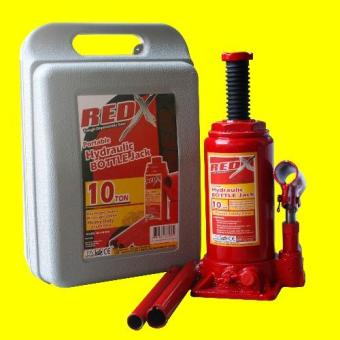 NFSC - Red X Hydraulic Bottle Jack - 10ton