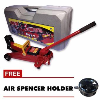 NFSC - Red X Hydraulic Floor Jack With Free Air Spencer Holder Price Philippines