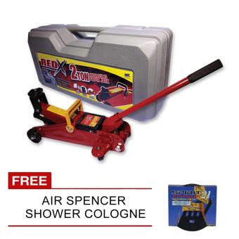 NFSC - Red X Hydraulic Floor Jack With Free Air Spencer ShowerCologne Price Philippines
