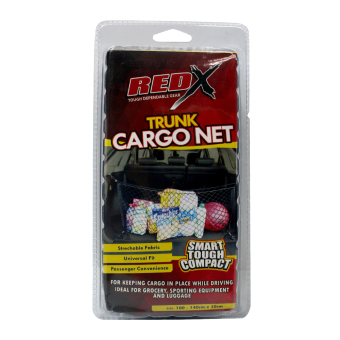 NFSC - Red X Trunk Cargo Net (Black) Price Philippines