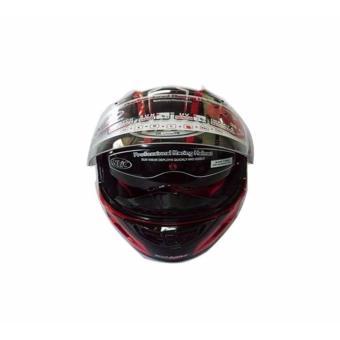 NHK GP1000 RACING INSTINCT RED/BLACK XL - 3