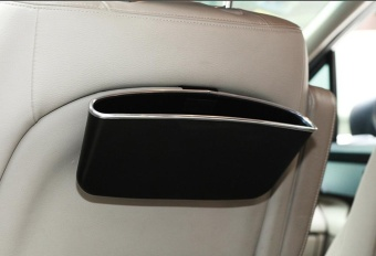 niceEshop Car Seat Catcher Gap Filler Organizer Center Console SidePocket, Black, 1Pcs - intl - 4