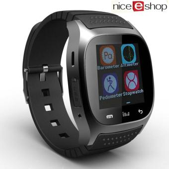niceEshop Men's Fashion Casual Wrist Watch Android Mobile Phone Watch, Black