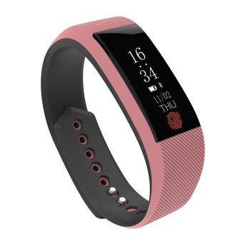 niceEshop W808S Smart Bracelet Waterproof Sports Wristband WithHeart Rate Monitor Pedometer Bluetooth Fitness Tracker For IPhoneAnd
