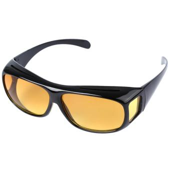 Night Vision Goggles Anti-glare Polarized Sunglasses Men Driving Glasses Sun Glasses UV Protection Car Drivers - intl