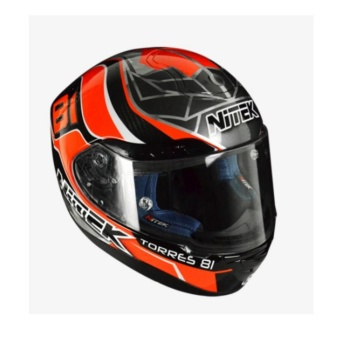 NITEK Handcrafted 00007 P1 Torres Suzuka Full Face Helmet ( 2017 Collection) - LARGE - 3