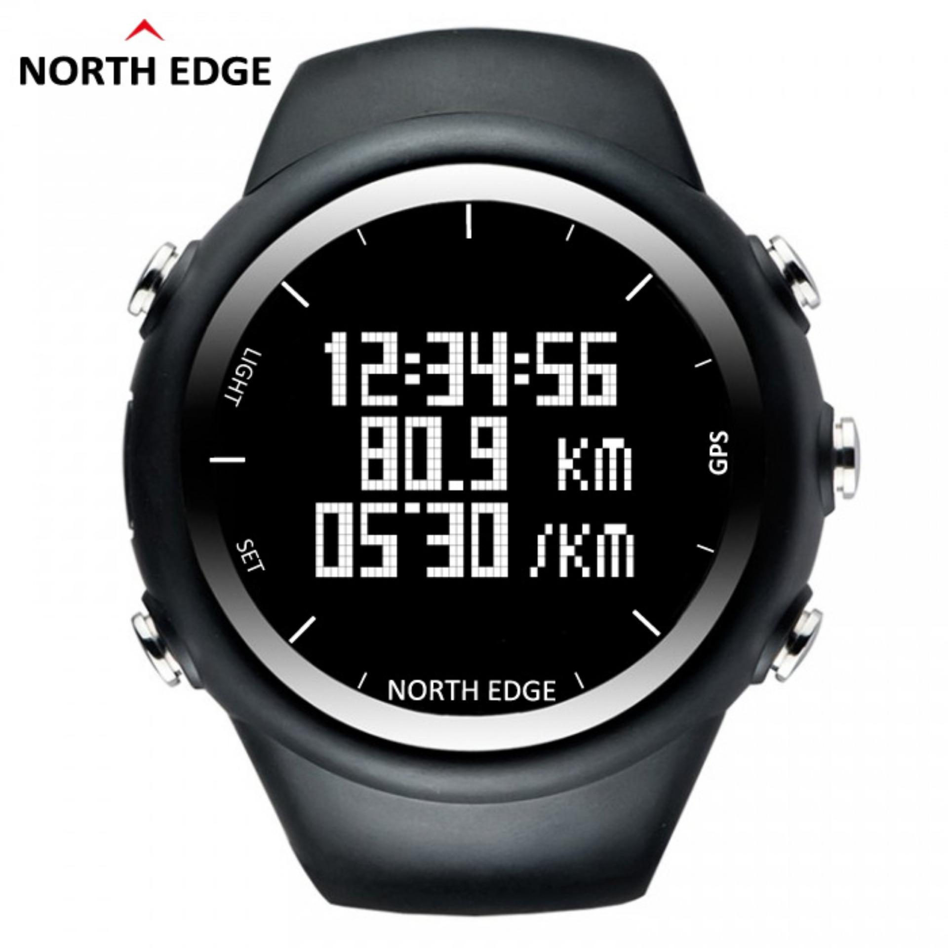 ... NORTH EDGE GPS Running Sports Digital Watch Men and Women Smart Watch for Swimming Diving Sailing ...