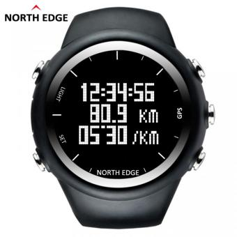 NORTH EDGE GPS Running Sports Digital Watch Men and Women SmartWatch for Swimming Diving Sailing Hiking Waterproof 5atm DistanceCalories - intl