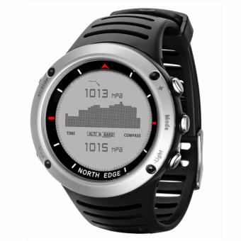 NORTH EDGE Men's sport Digital Smartwatch Hours Running Swimmingsports watches Altimeter Barometer Compass Thermometer Weather men - 2