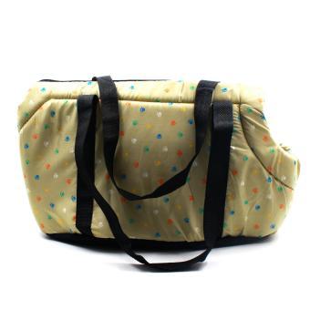 Nunbell Paws Pattern Pet Dog Carrier Bag - 3