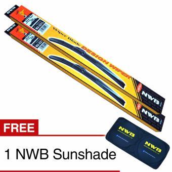 NWB DESIGN Wiper Blade for Hyundai Tucson 2010-2015 - (SET)