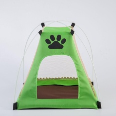 Ocean Pet tent Pet nest Kennel Pet Nest Folding Tents Dog Cage CatCage Can Removable Pet  sc 1 th 225 & Philippines | Folding Pet Tent House for Dog Cat 73x73x43(Blue ...
