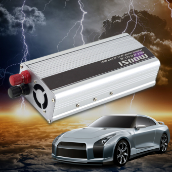OH 1500W Car DC 12V to AC 220V Power Inverter Charger Converter For Electronic - 5