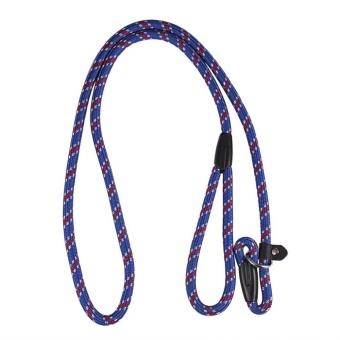 OH Best Soft Dog Training Leash Chew Resistant Nylon Ergonomic Anti Slip Grip Blue - intl - 5