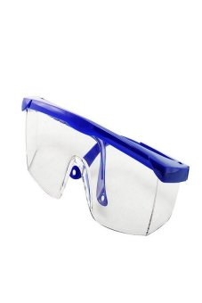 Okdeals Safety Eye Protection Clear Lens Goggles From Lab Dust Paint Blue Price Philippines