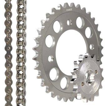 Osaki Fury 125 (4Holes) Revo 14-34x420x110 Chain Set (Chrome) - 2