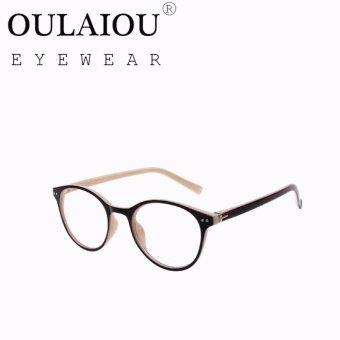 Oulaiou Fashion Accessories Anti-fatigue Trendy Eyewear Reading Glasses OJ9233 - intl