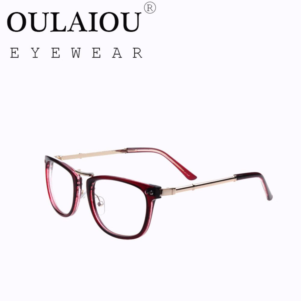 Oulaiou Fashion Accessories Anti-fatigue Trendy Eyewear ReadingGlasses OJ761 - intl .