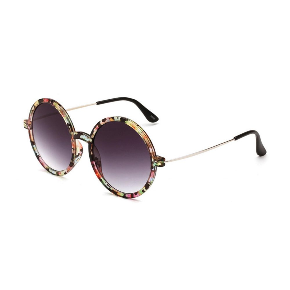 Oulaiou Women's Fashion Accessories Anti-UV Trendy Reduce GlareSunglasses O2008 - intl .