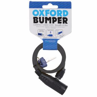 Oxford OF02 Bumper Cable Lock (6mm x 600mm)