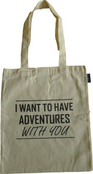 Paccube Wander I Want To Have Adventures With You Tote Bag