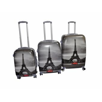 "Paris Hard Case Travel Luggage F-9031 set of 3 size (20""/24""/28"") Price Philippines"