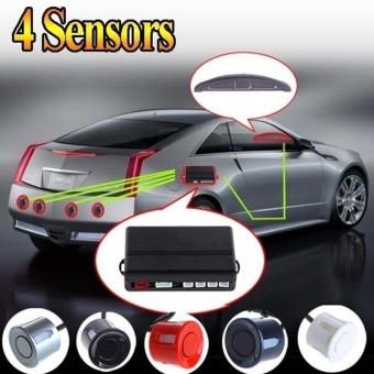 Parking assistance Car LED Parking Reverse Backup Radar kit MonitorSystem with Backlight Display+4 Sensors 6 colors Car Accessories -intl Price Philippines