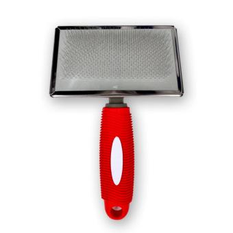 PAWS UP Pet Grooming Pet Rectangular Slicker Pin Comb Brush LARGE - 2