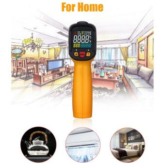PEAKMETER PM6530D Display Handheld Infrared Thermometer with Humidity & Dew IRT K-type LCD Temperature Controller -50-800Deg.C - 3