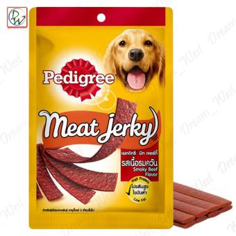 Pedigree Meat Jerky Strips Smoky Beef Flavor Dog Treats 80g