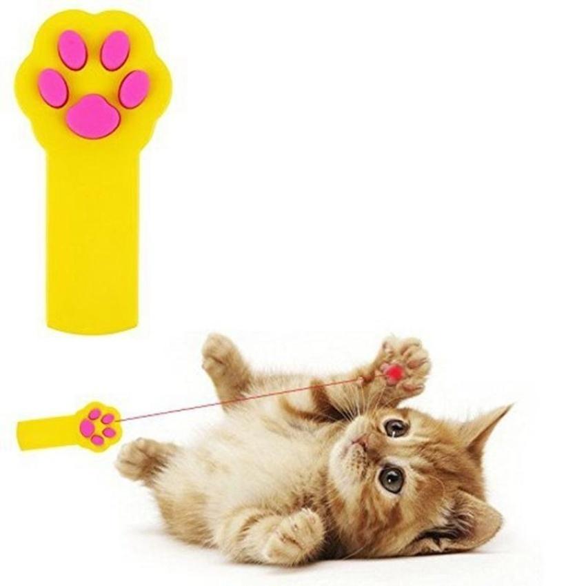 ... PentaQ Pet Cat Dog Catch The Laser Light Pointer  InteractiveExercisetoolchaser Toys White   Intl ...