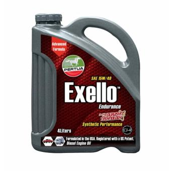 Pertua Exello Synthetic Performance Diesel Engine Oil SAE 15W/40 4L