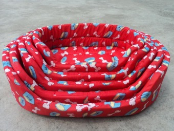 Pet cat dog basin Cat dog bed RED3 - Intl - 2