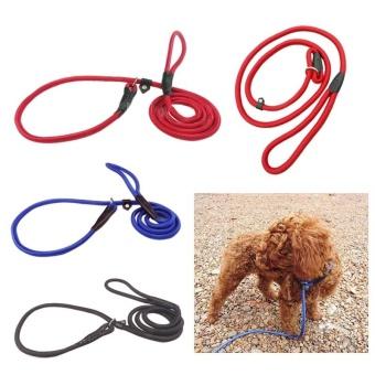 Pet Dog Nylon Training Leash Lead Strap Rope Adjustable TractionCollar (L) - intl - 2