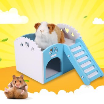 Pet Hamster/Mice Guinea Pig Small Animal Play Castle Sleeping House/Nest(Green) - intl - 5