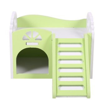 Pet Hamster/Mice Guinea Pig Small Animal Play Castle Sleeping House/Nest(Green) - intl - 3