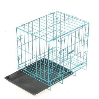 Pet metal cage Playpen Blue - intl - 4