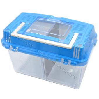 Pets Cage Supreme for all types of Pets - (17x9x14cm) - Blue Price Philippines