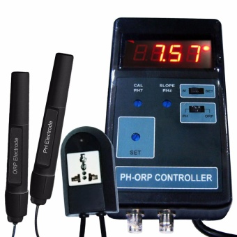 PH-203 Gain Express Digital 2 in 1 pH and ORP Controller Meter withRelay - Intl Price Philippines