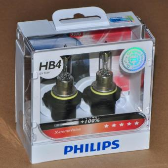 Philips X-treme Vision HB4/9006 Headlamp Replacement Bulb Set of 2