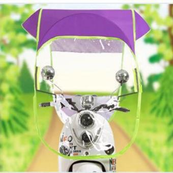 Phoebe's Motorcycle Canopy Cover / Umbrella (Violet)