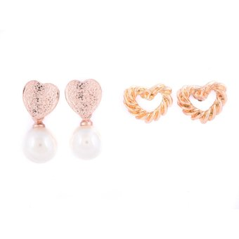 Piedras Two in One Earrings (Gold)