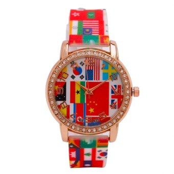 Piedras Women's Multicolor Silicone Watch Strap wt07