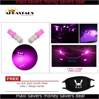Pink Motorcycle Scooter Bike / Car LED Parking Lights for forYamaha Mio Sporty