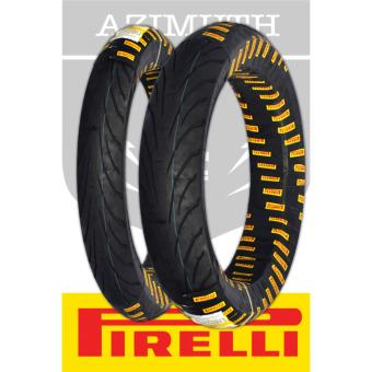 Pirelli Angel CiTy Kawasaki Rouser 135 LS Tubeless 2xTires Set (2.75x17 49S and 100/90-17 55S)