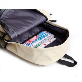 Pokemon Go Plus Laptop Backpack With Hidden Back Pocket (Cream) - 4