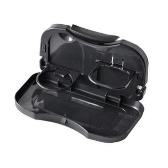 Portable Car Travel Dining Tray with free Headset w/ mic