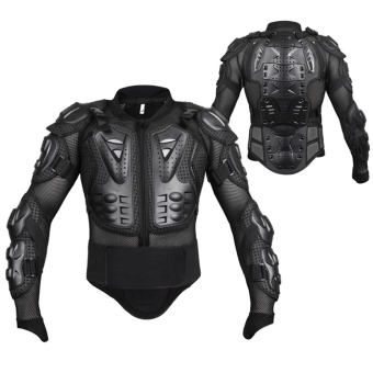 Professional Motocross Off-Road Protector Motorcycle Full BodyArmor Jacket Protective Gear Clothing - intl