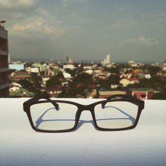 PSL The Jaw Computer Glasses (Chrome Black) - Anti Blue Light, Anti-Radiation, Anti-eye Fatigue - 4